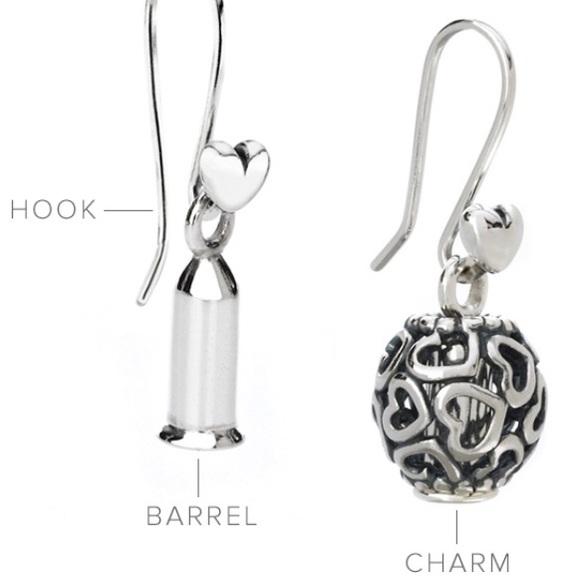 pandora earring charm holder